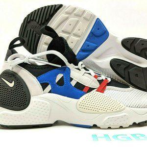 Nike Huarache EDGE TXT White Black Grey Royal NIB